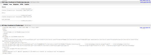 javascript - XMLHttpRequest sending post request and ...