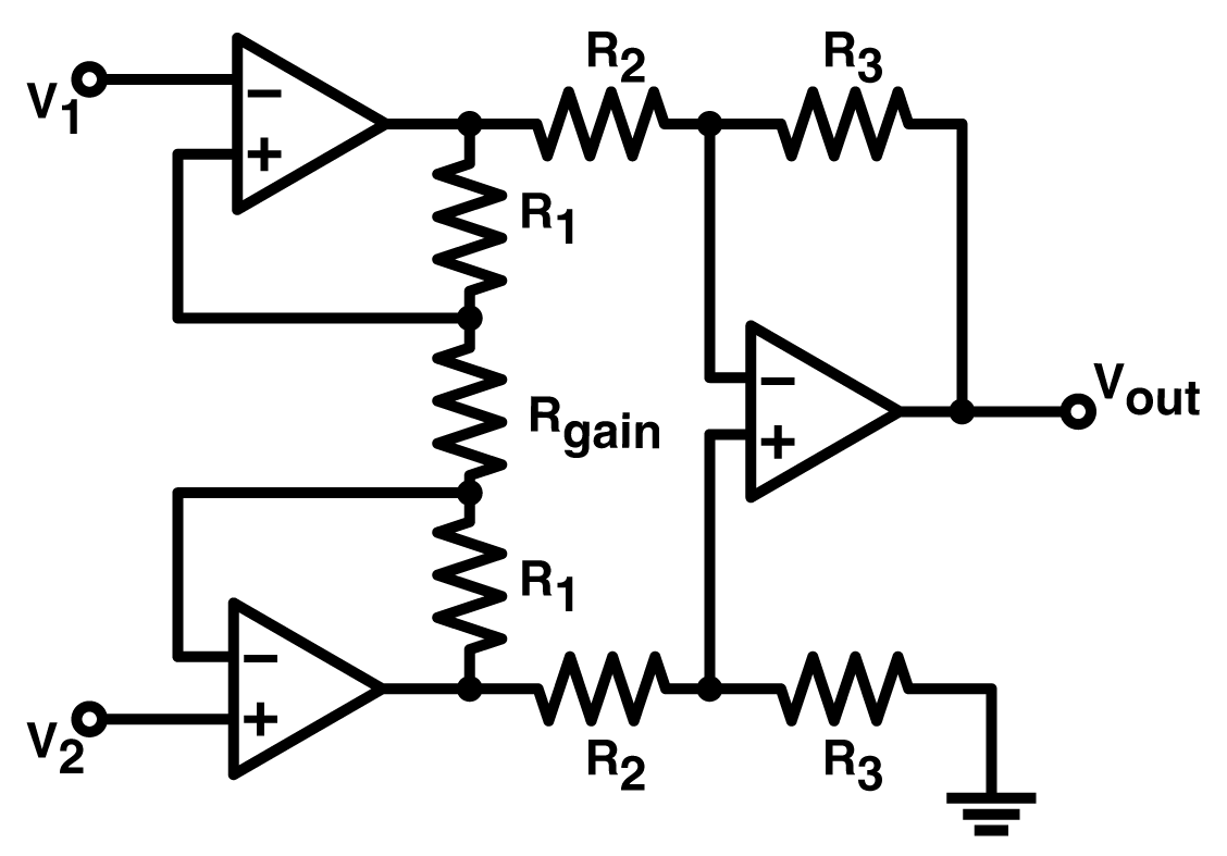 Differential Amplifier With Differential Output And Common
