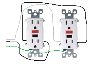 electrical  How do I properly wire GFCI outlets in parallel?  Home Improvement Stack Exchange