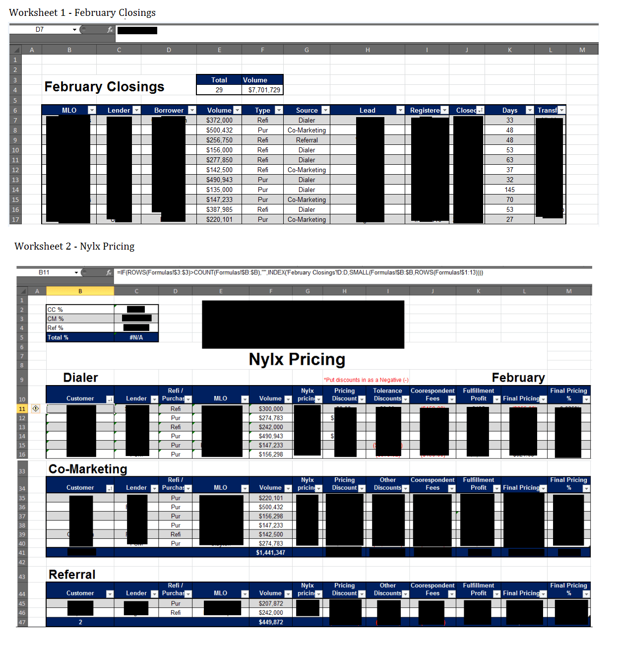 Copying Cell Based Off Criteria