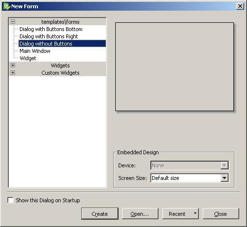 qt4 - How do you use dialog forms in Qt designer? - Stack ...