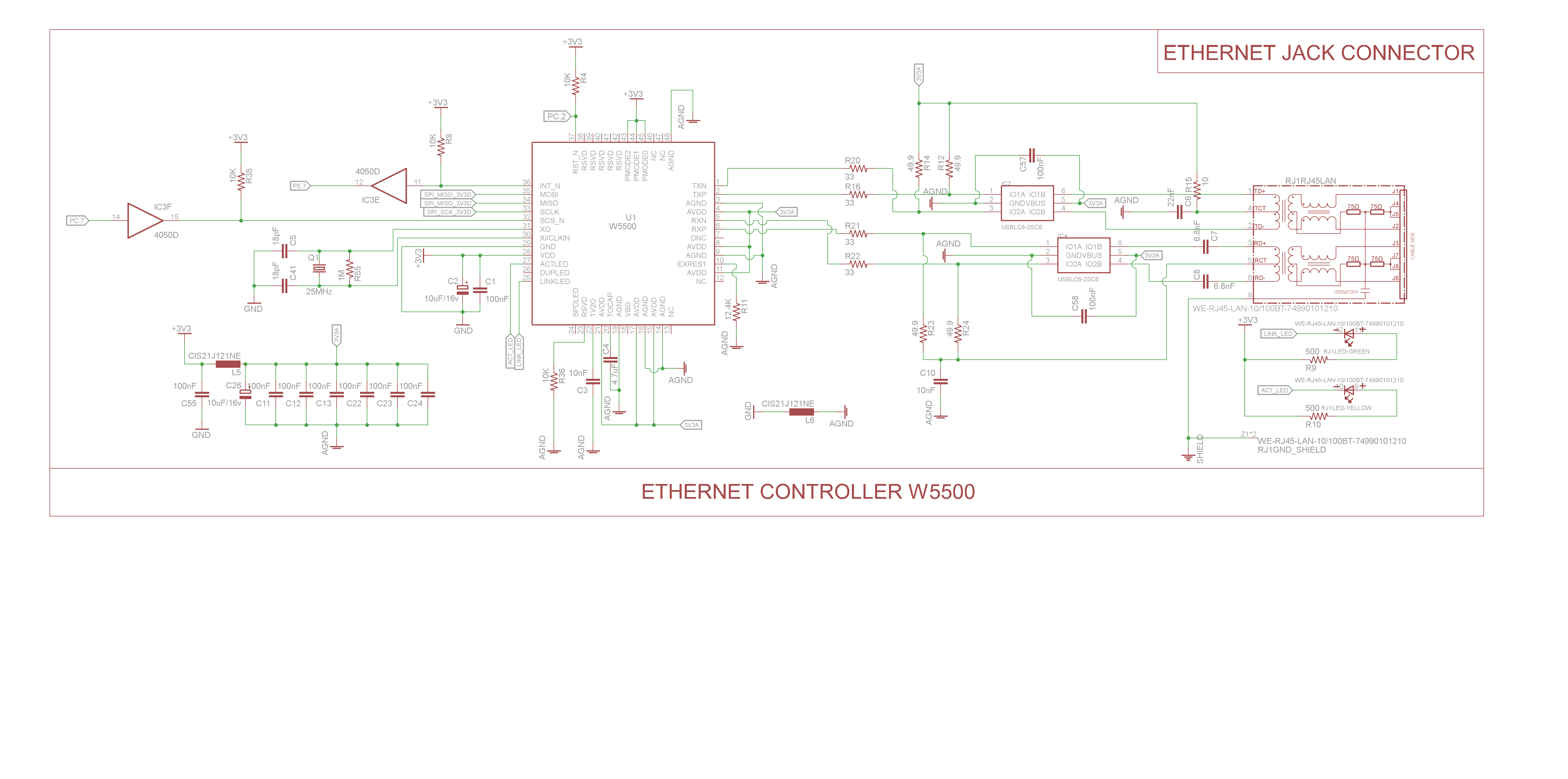 Rj45 Pcb Connector Ethernet Layout Guidelines
