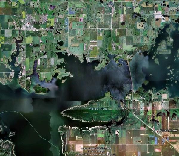 depth Looking for bathymetry data for Lake Sakakawea in