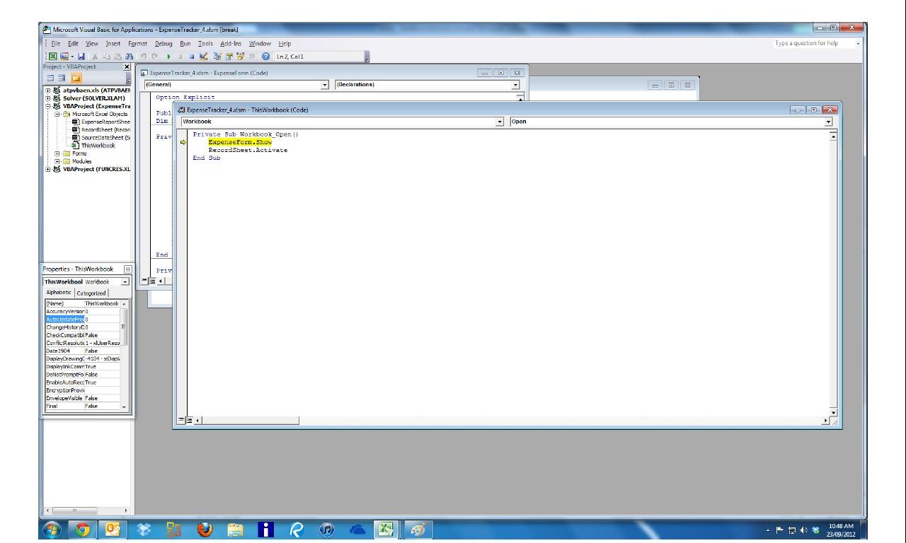 Excel Vba Select Sheet Based On Codename