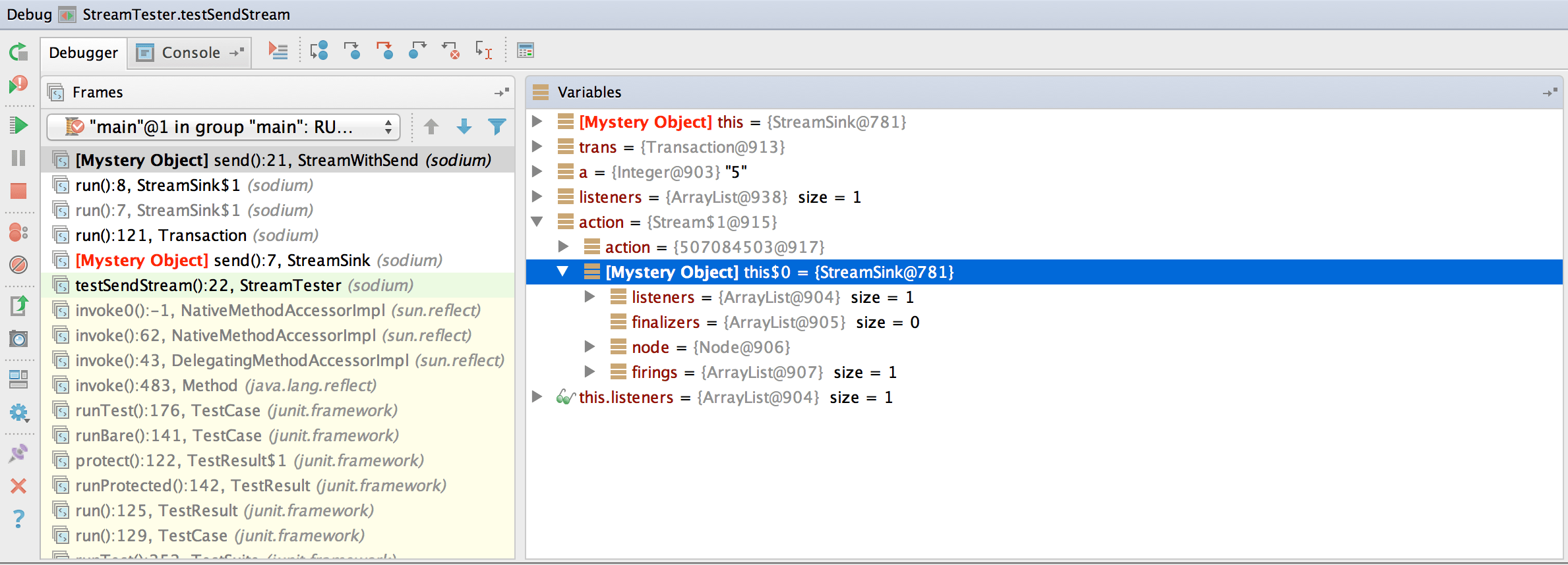 What Does It Mean If A Variable Has The Name This 0 In Intellij Idea While Debugging Java