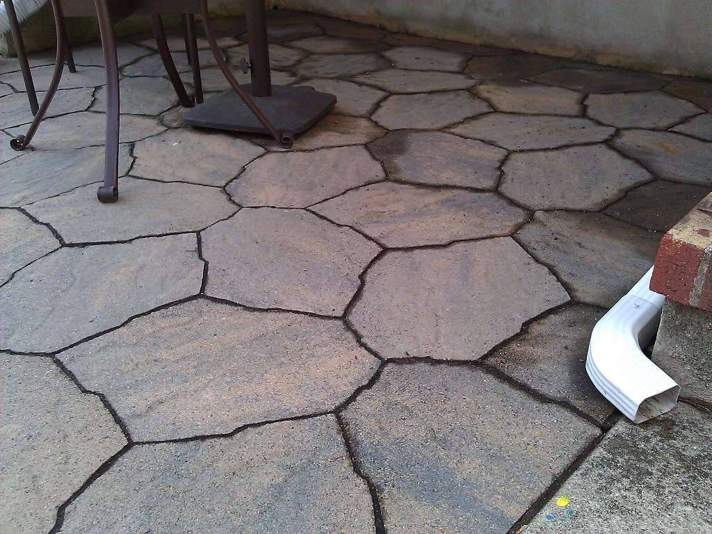 sand for a paver patio