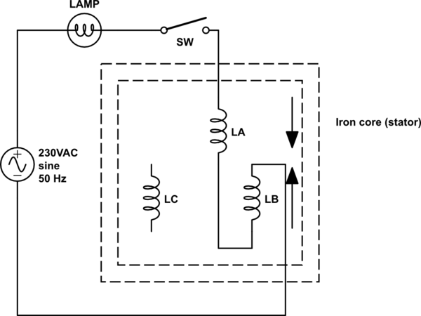 3 phase motor winding procedure