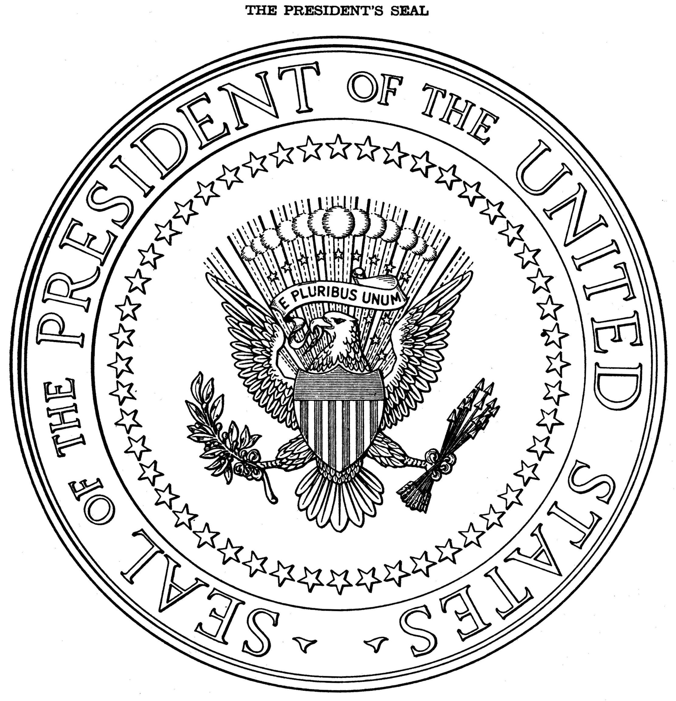 United States Is The Expression Seal Of On The Seal Of