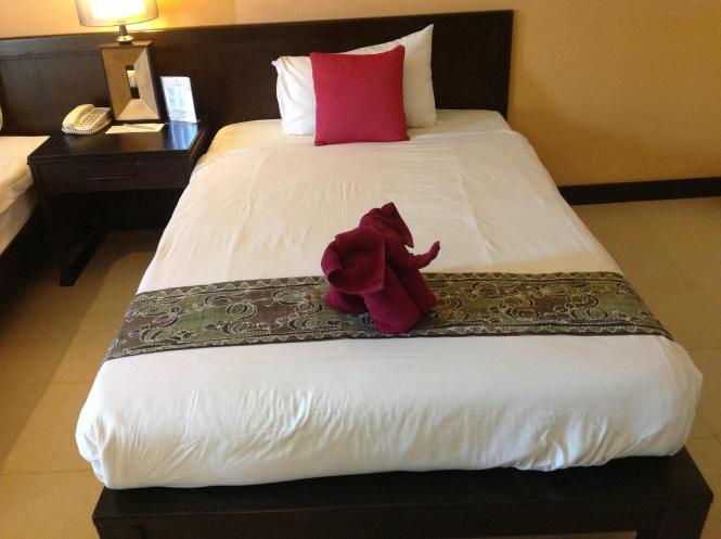 Hotel Room Before I Trash It