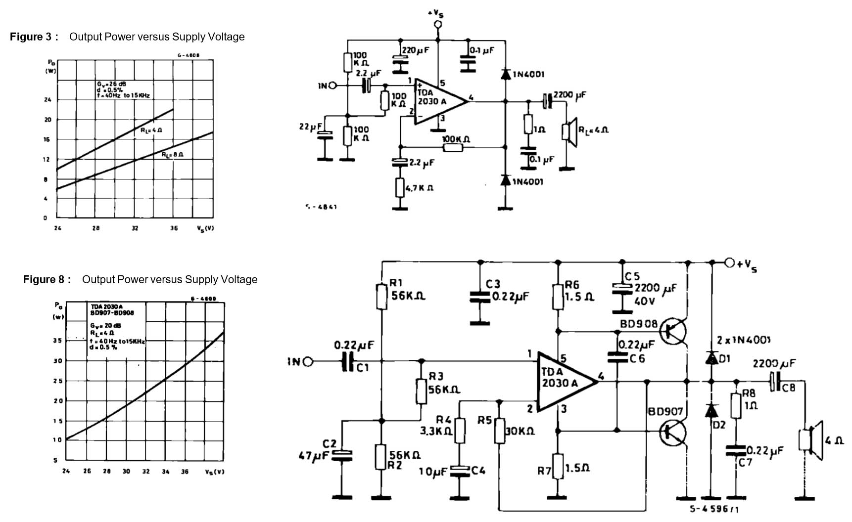 Power Transistor For Tda Audio Amp
