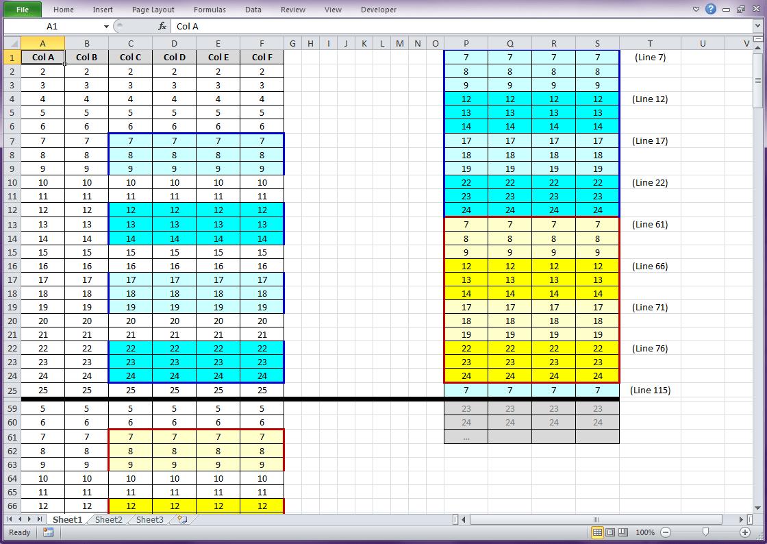 Vba Excel Loop Copy And Paste