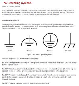 schematics  Use of ground symbols in circuit diagrams