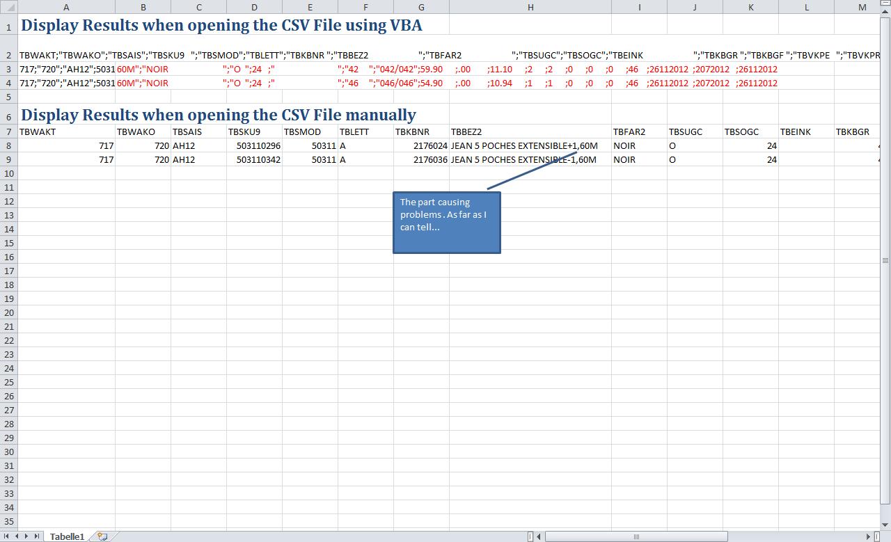 Excel Vba Csv