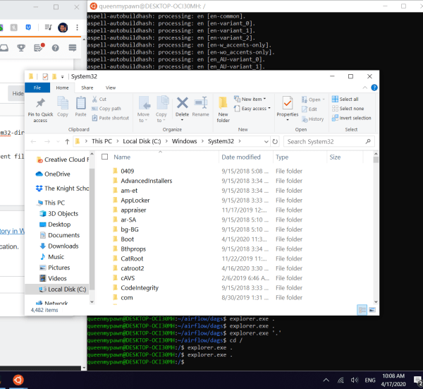 windows subsystem for linux - WSL - explorer.exe launches ...