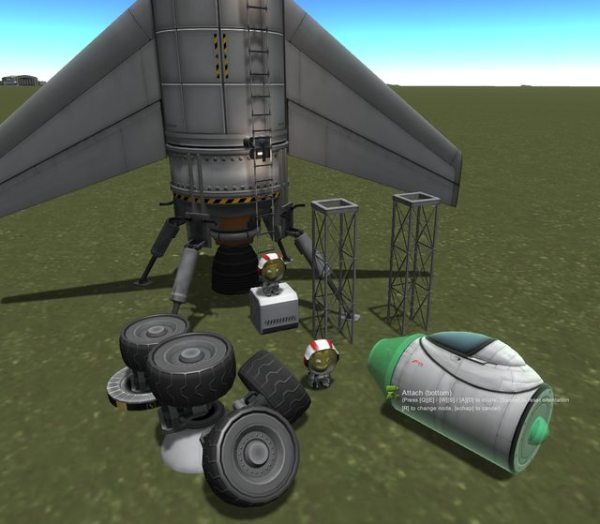 kerbal space program Can one replaceadd a ship part in