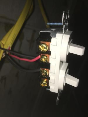 electrical  Wiring 2 double 3 switches  Home Improvement Stack Exchange