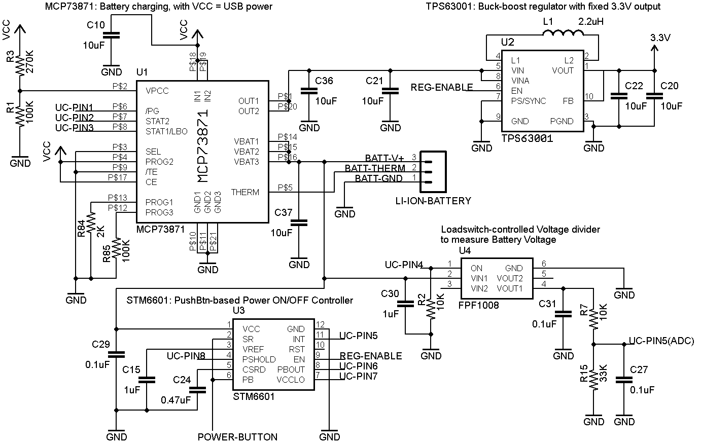 Wrg Fixed Power Schematic Wiring