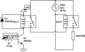 230V230V AC relay circuit  Electrical Engineering Stack