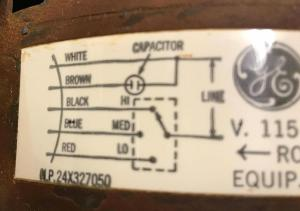 hvac  Where does the extra wire connect on my new furnace blower motor?  Home Improvement