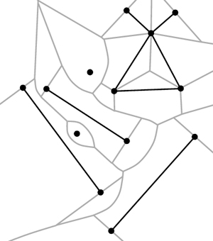 geometry  Term for Voronoi diagrams with nonpoint sites