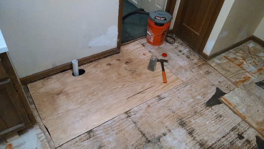 correctly install ceramic floor tile