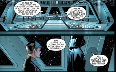 Star Wars Did Darth Vader Ever Return To Tatooine Science Fiction Amp Fantasy Stack Exchange