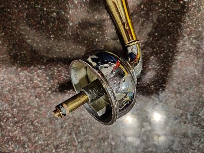 remove broken cartridge of a moen