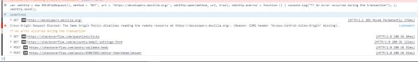 javascript - xmlHttpRequest.onerror handler use case ...