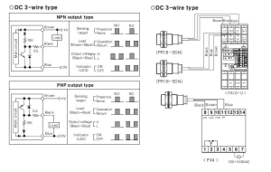 pic  How to connect a Inductive Proximity Sensor Switch NPN DC636V to PIC18F4550 5V