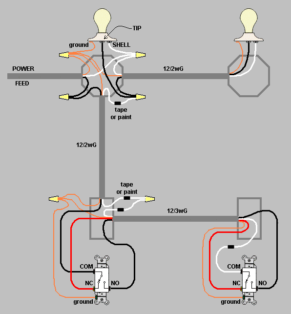 how to update a switch loop to a 3 way switch  home