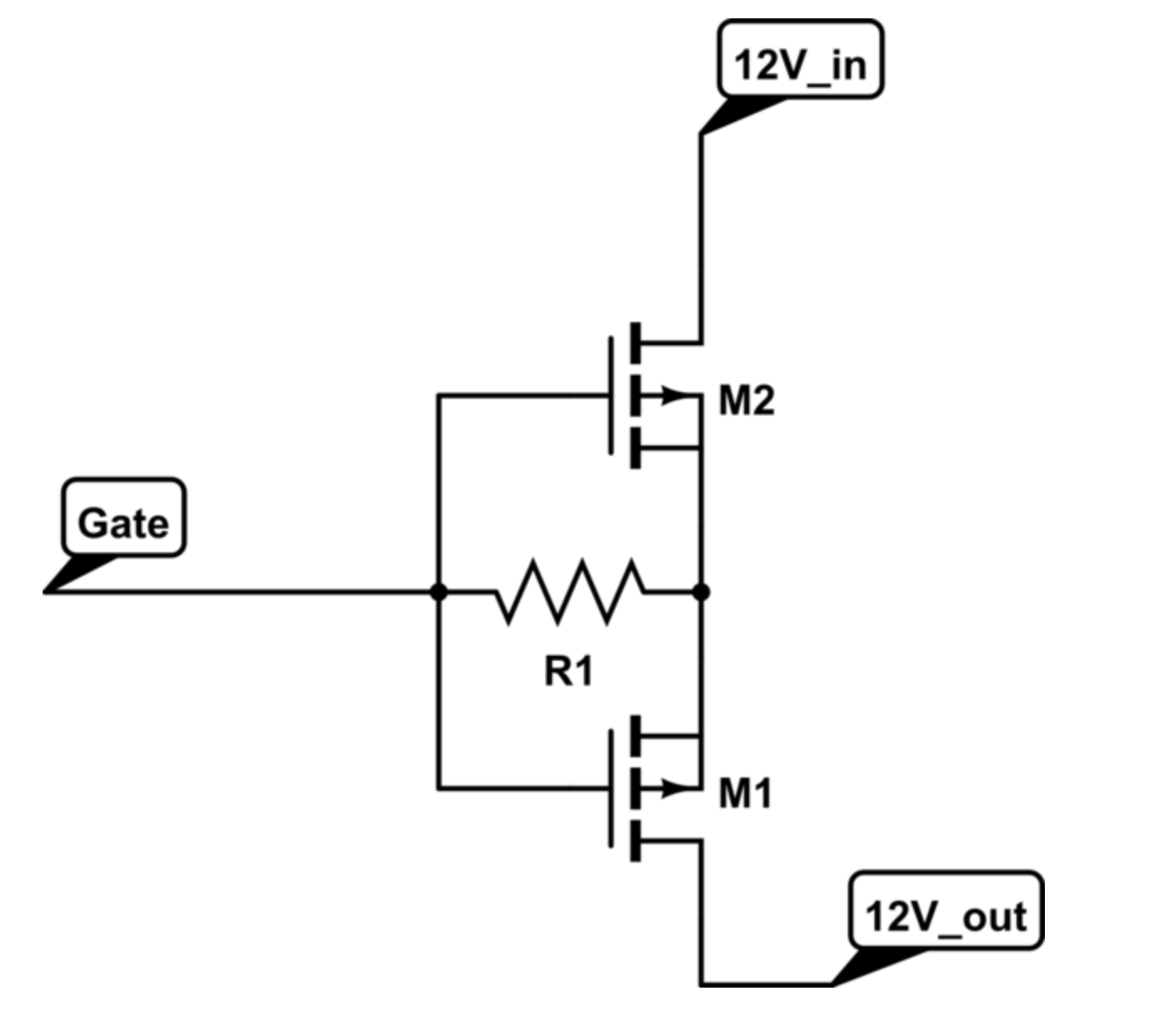 Avoid Mosfet Reverse Current Flow Drain To Source