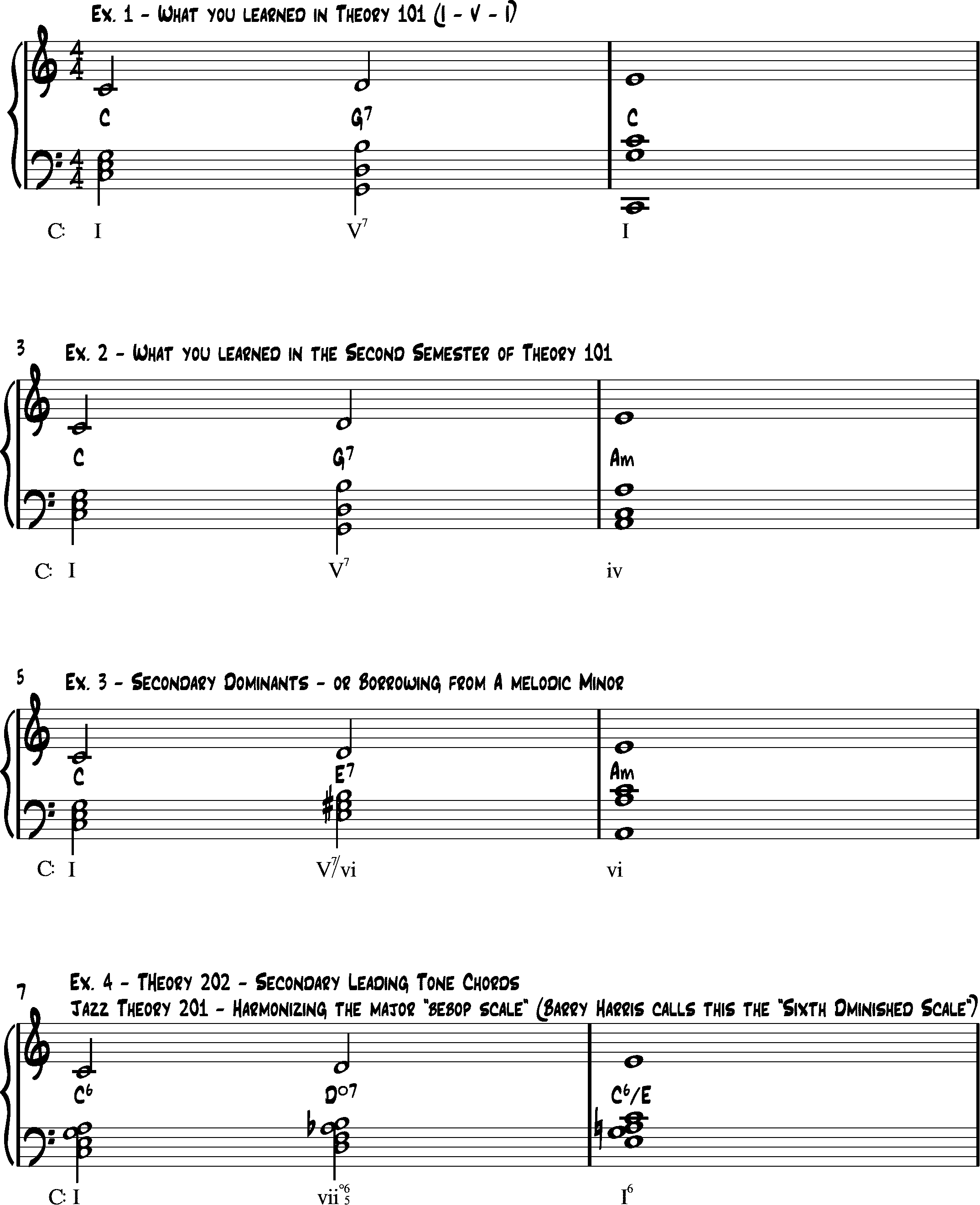 What Methods Are Used By Jazz Musicians To Fill In Addition Chords To A Song