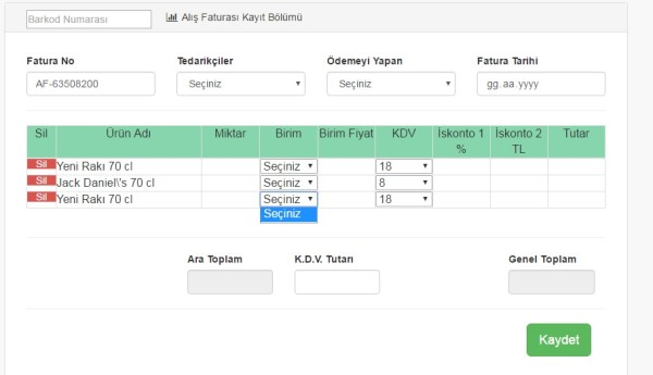 Showing select option list (Dropdown) in dynamic html+php ...