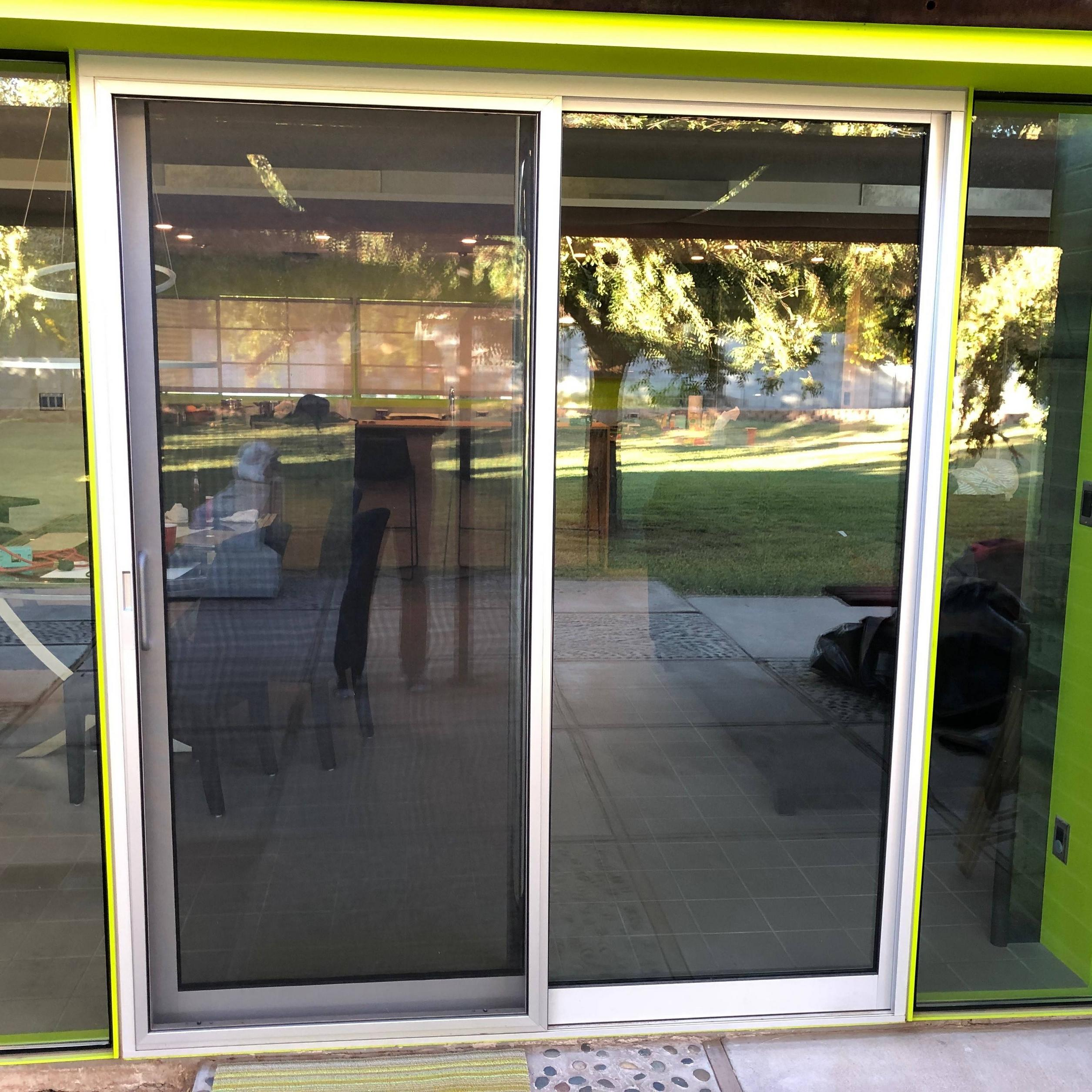 https diy stackexchange com questions 156319 water leaking into house through sliding glass door could missing flashing be t