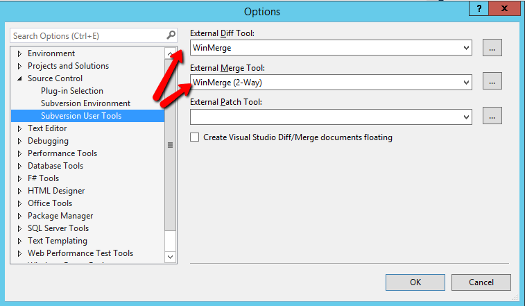 VS2013 Subversion User Tools