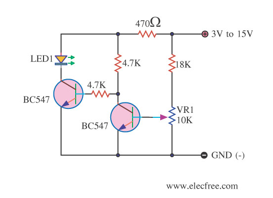 Low Voltage Warning With PNP