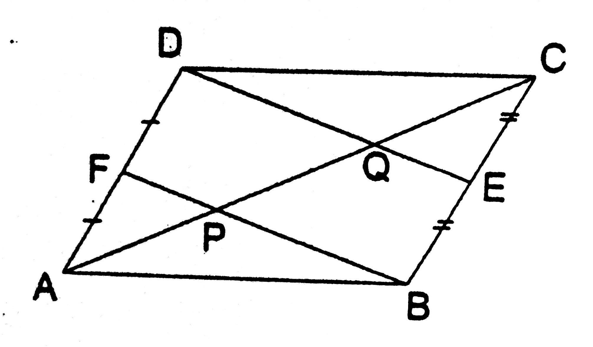Parallelogram Problems Worksheet