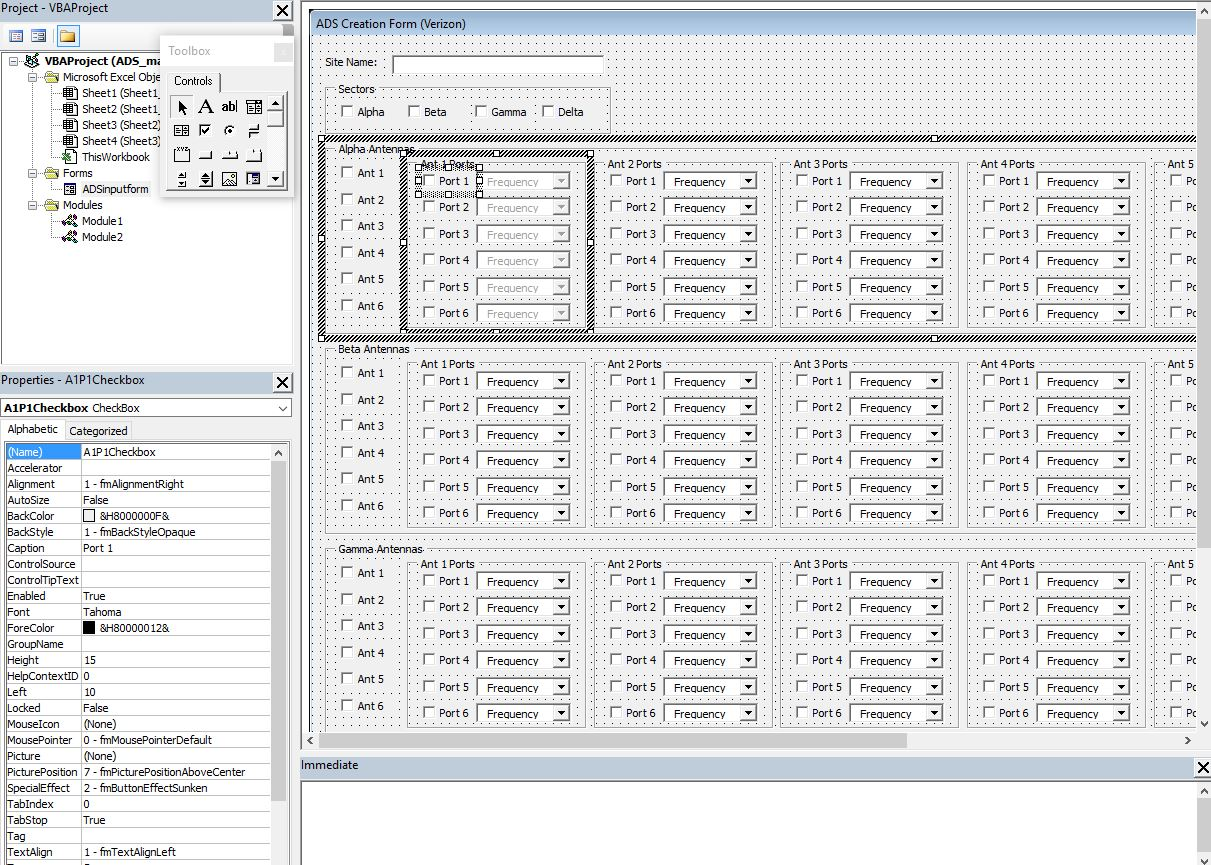 Excel Vba Userform Disable Checkbox