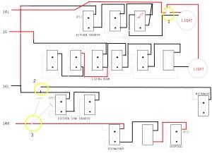 Kitchen wiring issue  Home Improvement Stack Exchange