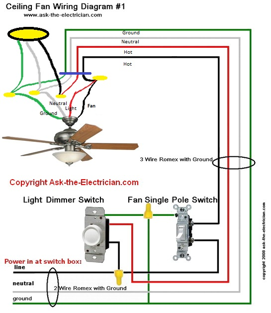Wiring Adding Recessed Lighting To Room With Ceiling Fan