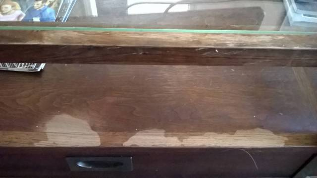 How to fix water damage to wooden table - Home Improvement Stack