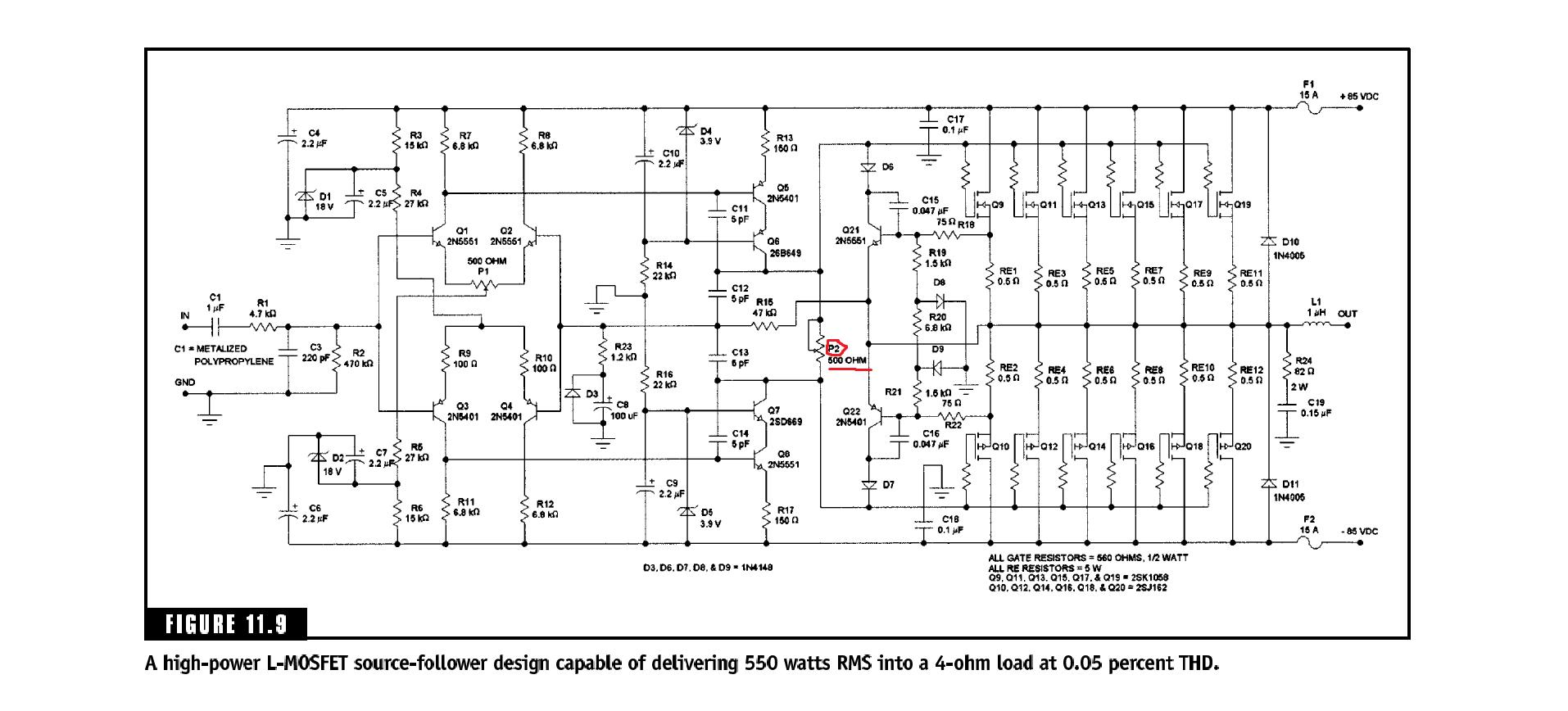 Power Amplifier Modification