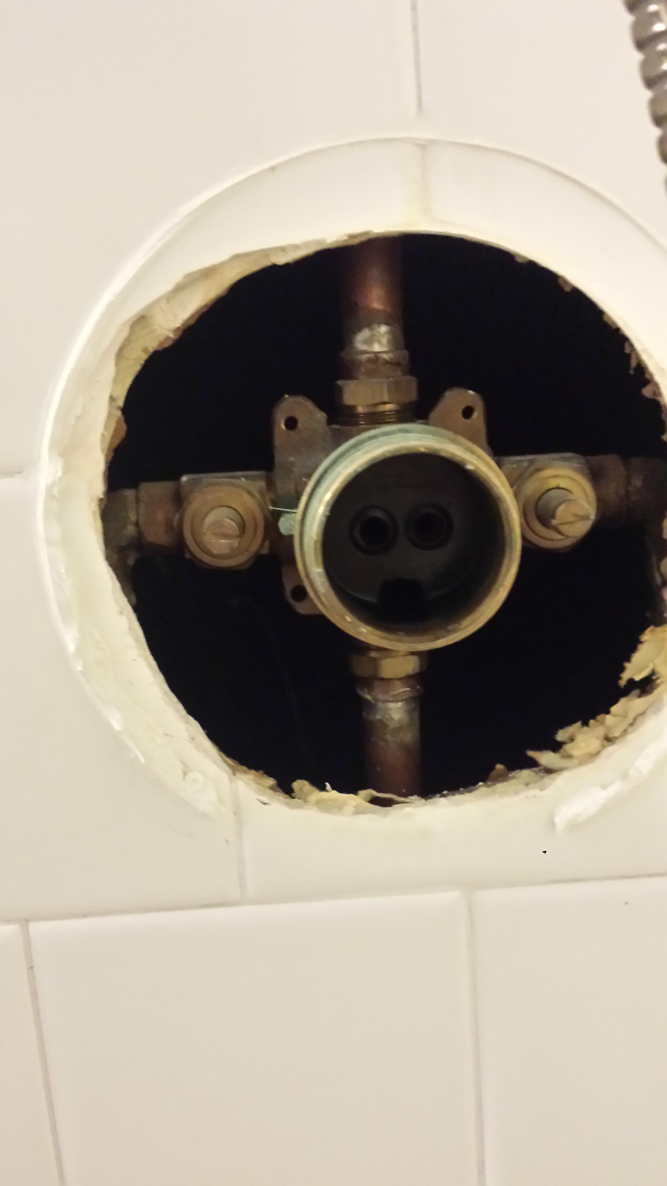 fix an old leaky shower valve