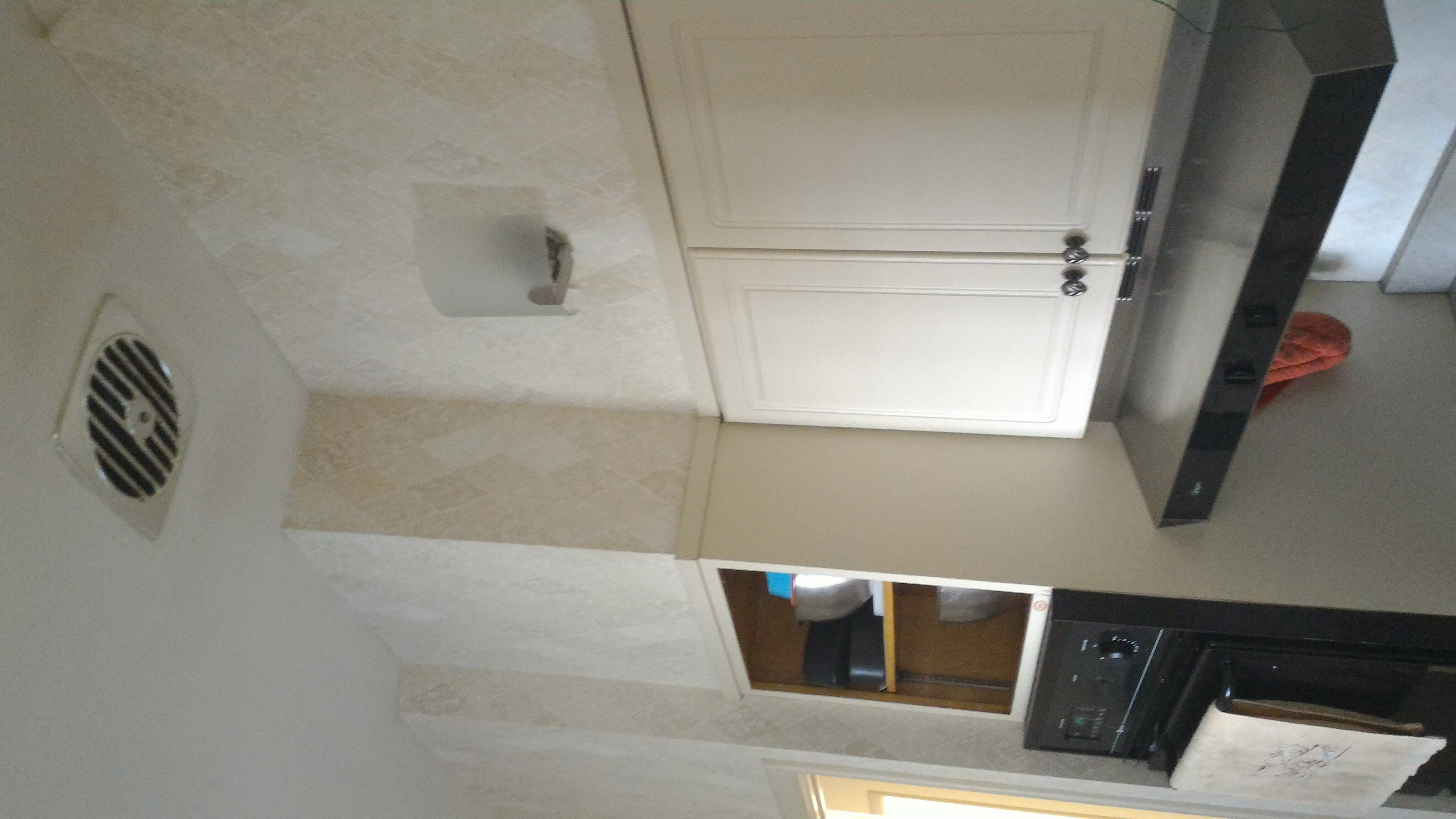 ceiling exhaust fan in kitchen home