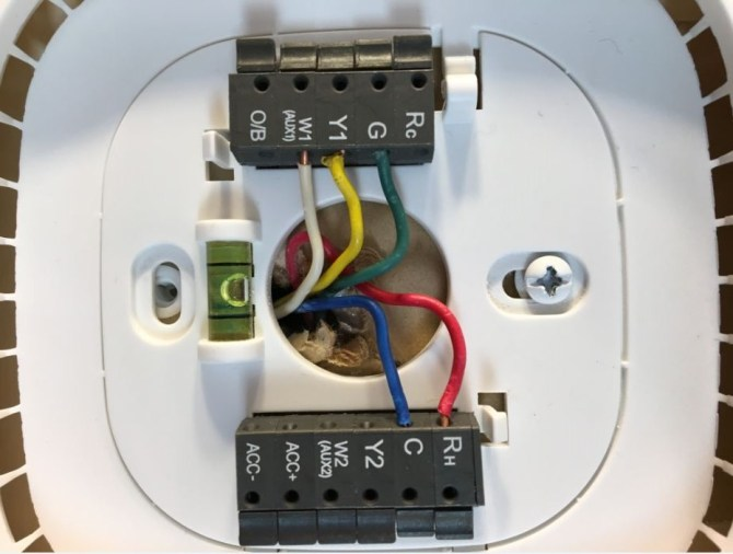 how do i connect the spare c wire to the old lennox system