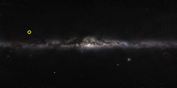 How to orient ESOs Milky Way Panorama in a 3D model