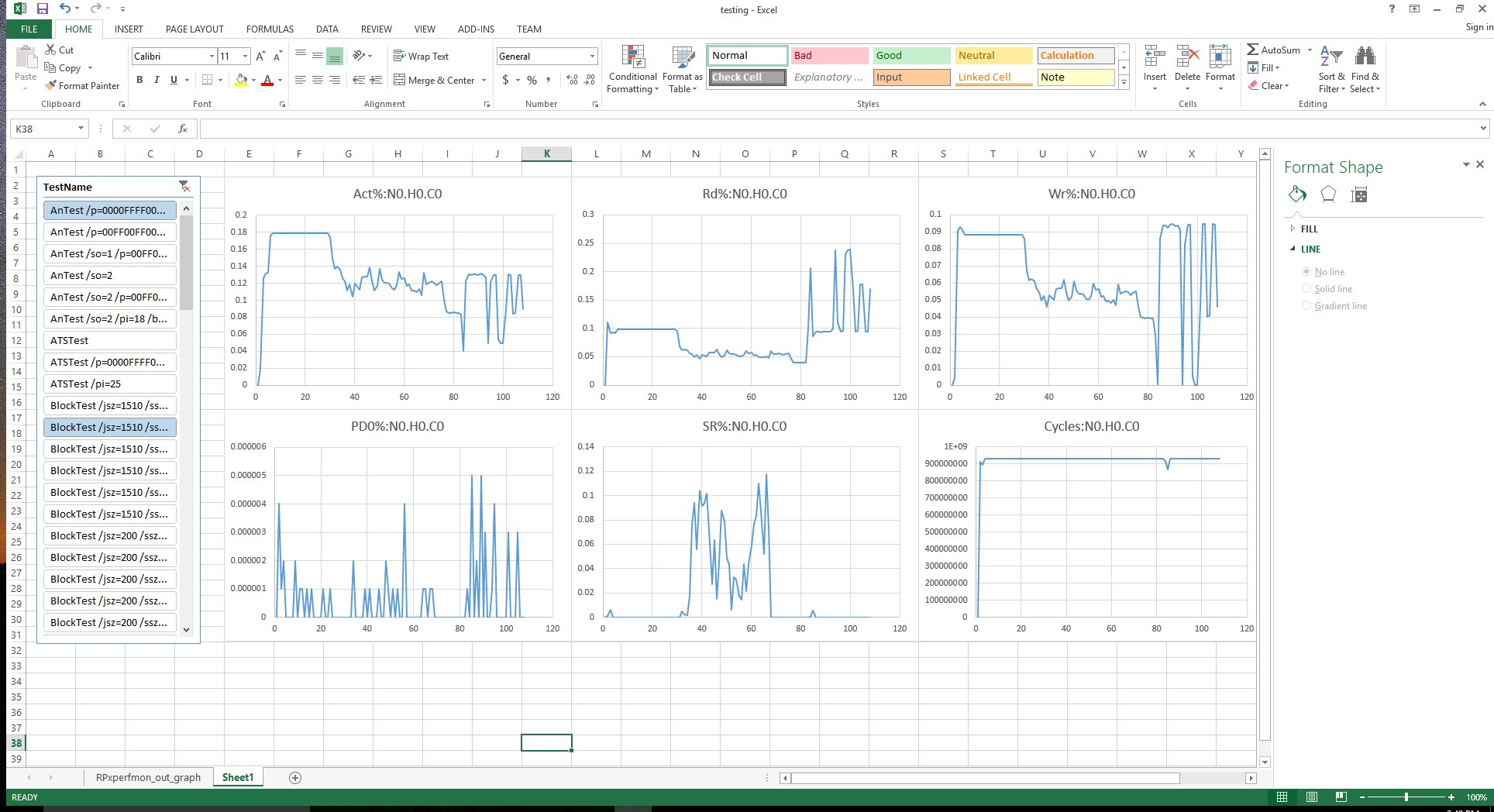 Changing First Excel Worksheet And Auto Reference Graphs