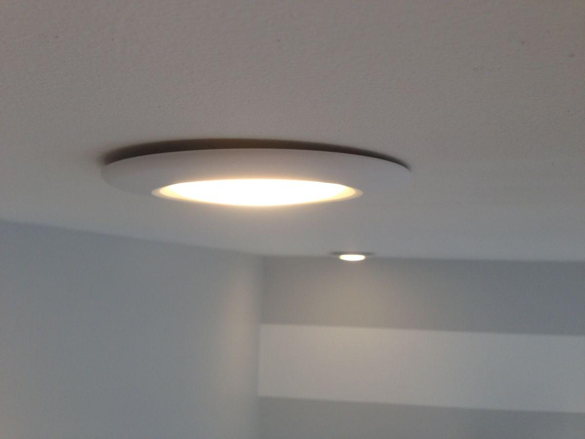 my recessed light fixture flush