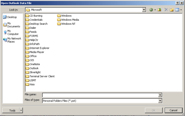 qt - can the Open File dialog be used to select a Folder ...