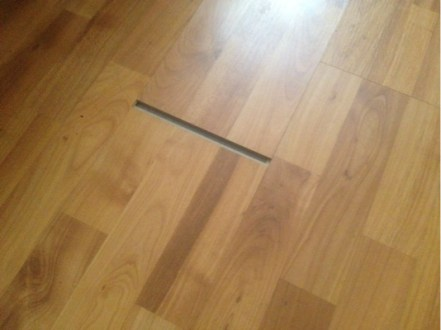 repair   Laminate floor sliding out of place   Home Improvement     gap  repair laminate floor